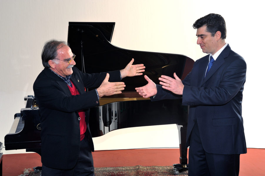 Due presidenti onorari per i 20 anni dell'Accademia musicale Praeneste