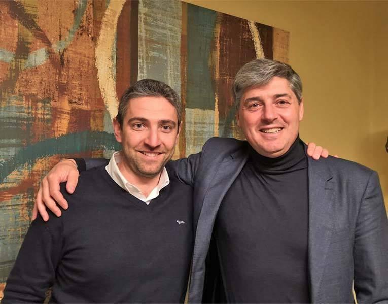 Capoleoni con Moretti